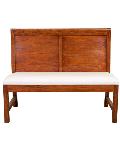 BPB18 Panel Back 2 Seater Bench 1