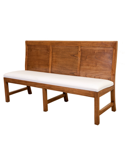 BPB19 Panel Back 3 Seater Bench 3