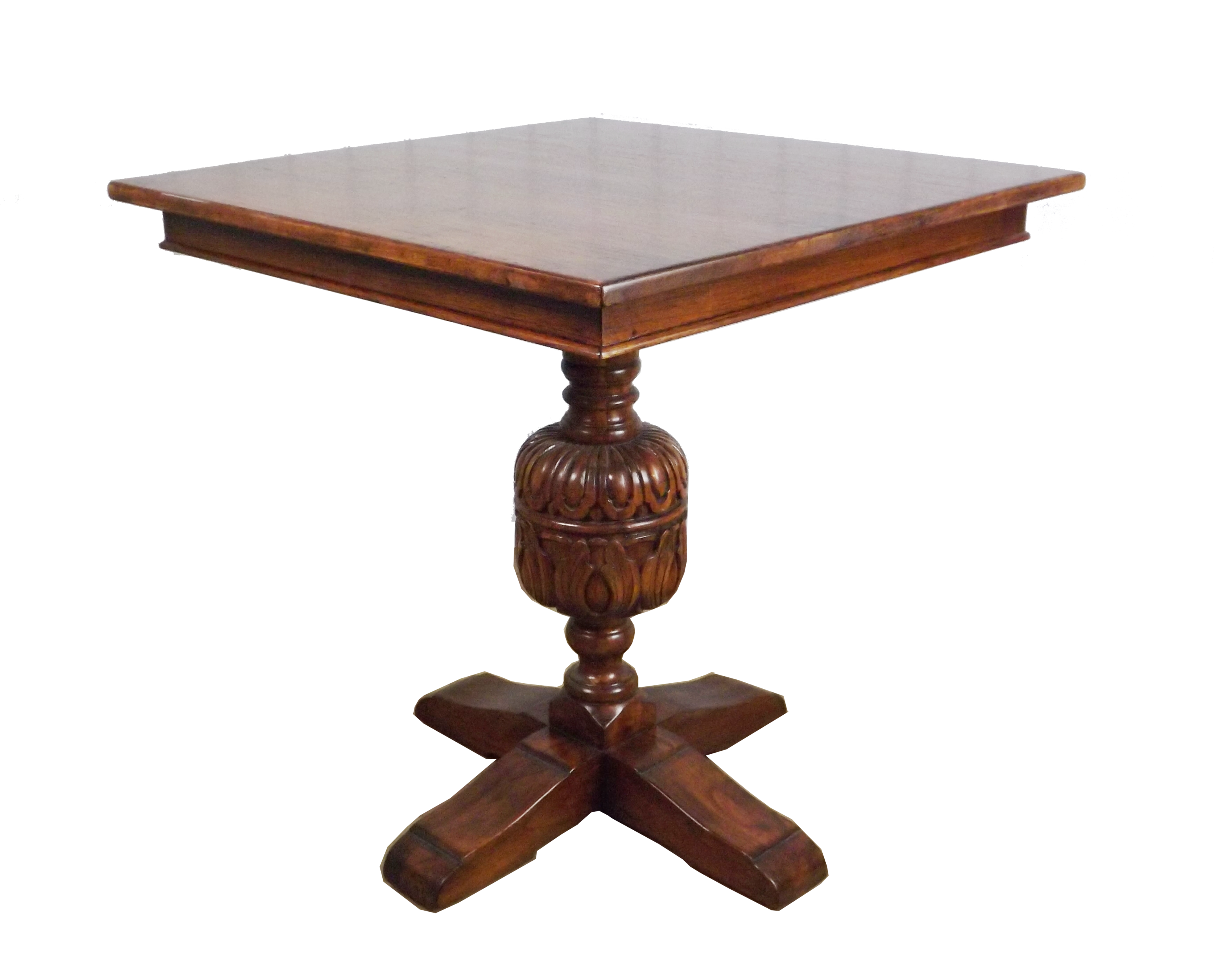 Cup Amp Cover Square Top Pedestal Table