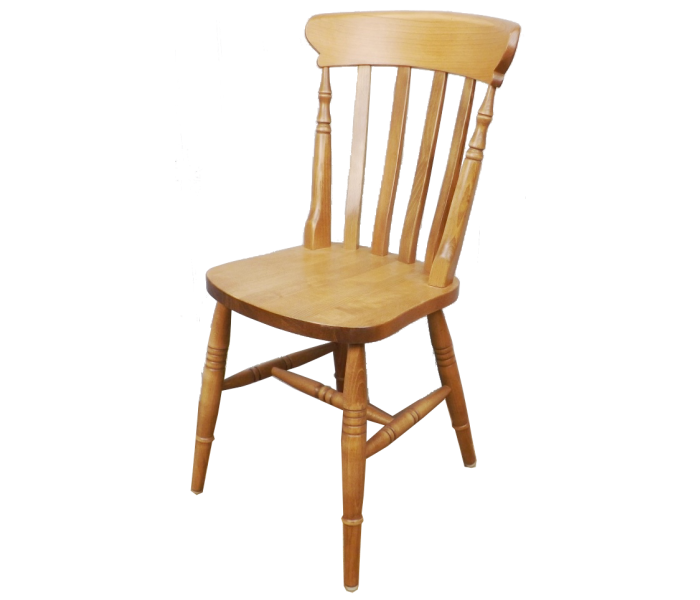 Farmhouse High Slatback chair 3 Copy2