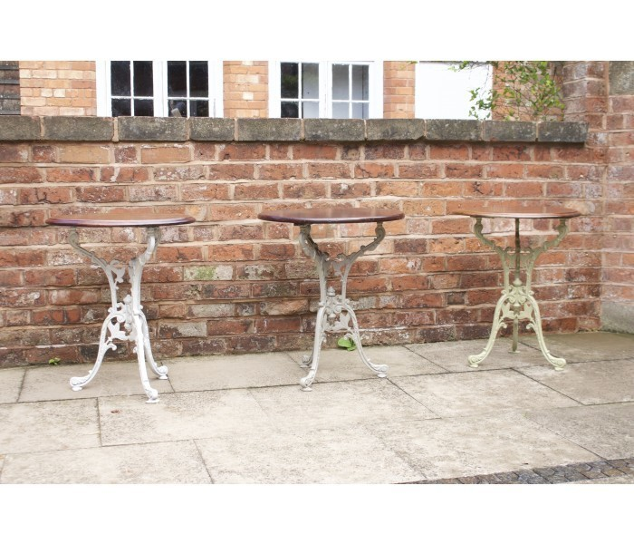 Floral Design Cast Iron Table Base
