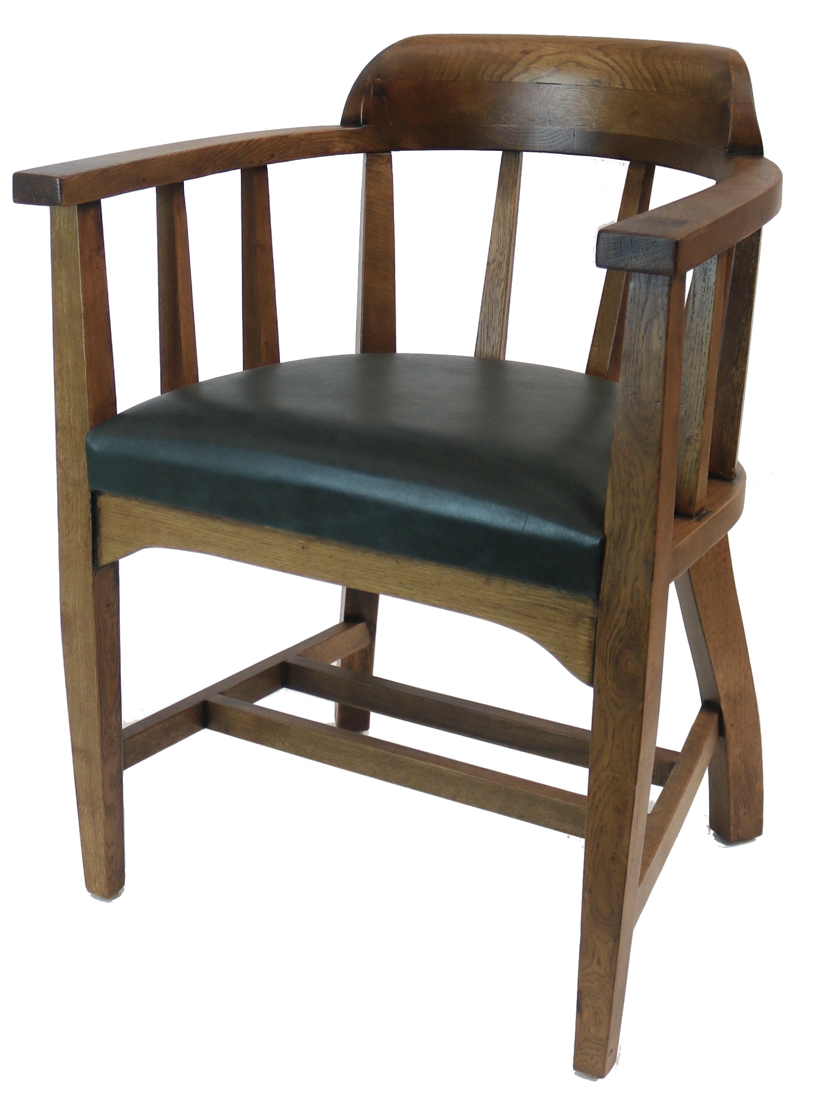 Tub Armchair Commercial Upholstered Wooden Tub Chair