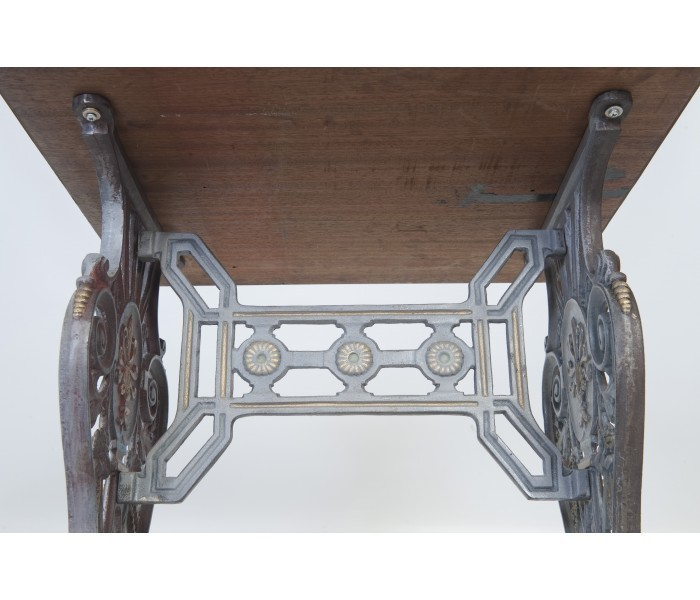 Traditional Cast Iron Table Base Detail