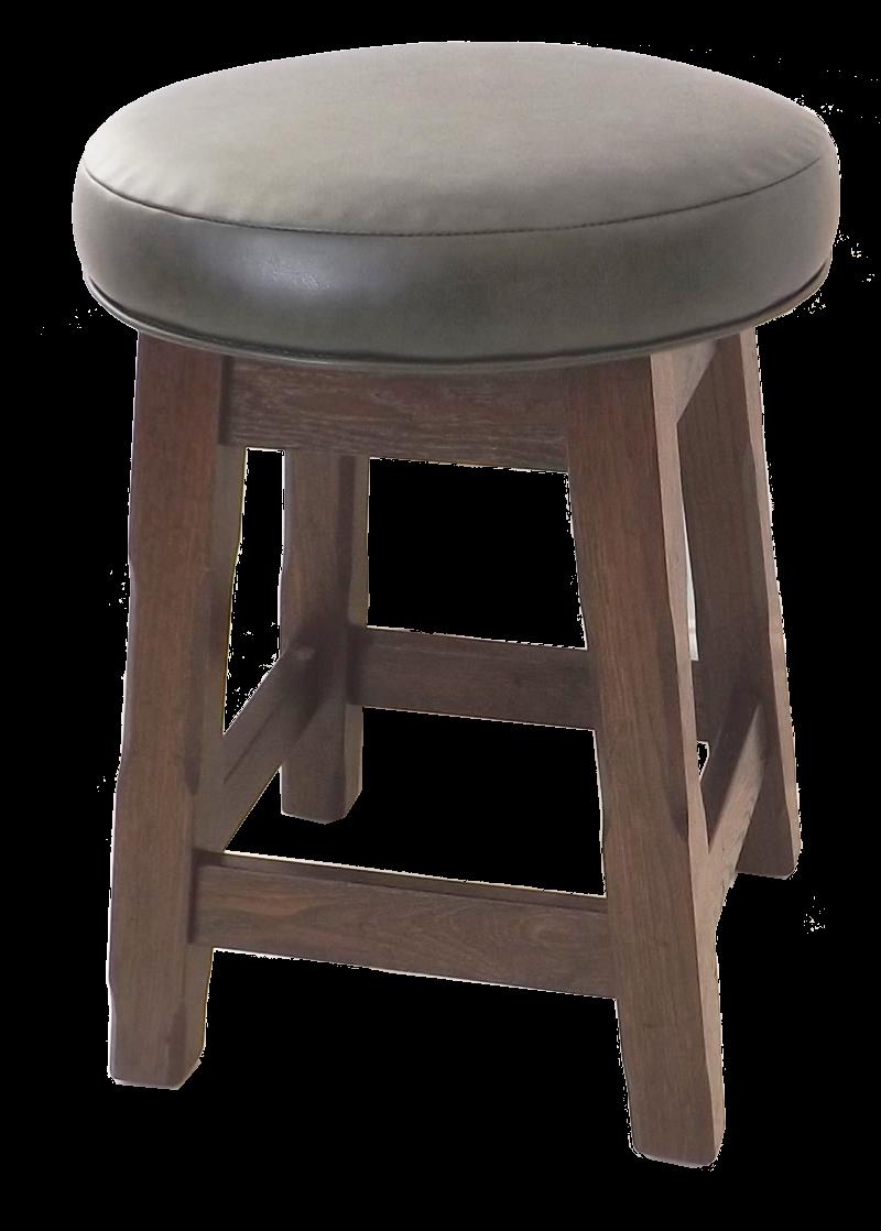 Haughton Low Stool Upholstered
