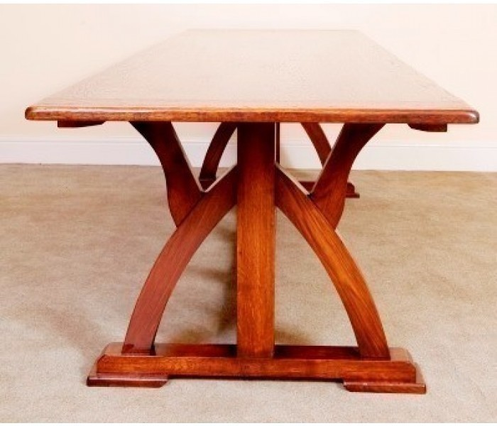 TGP30 Gothic Pugin Refectory Table 3
