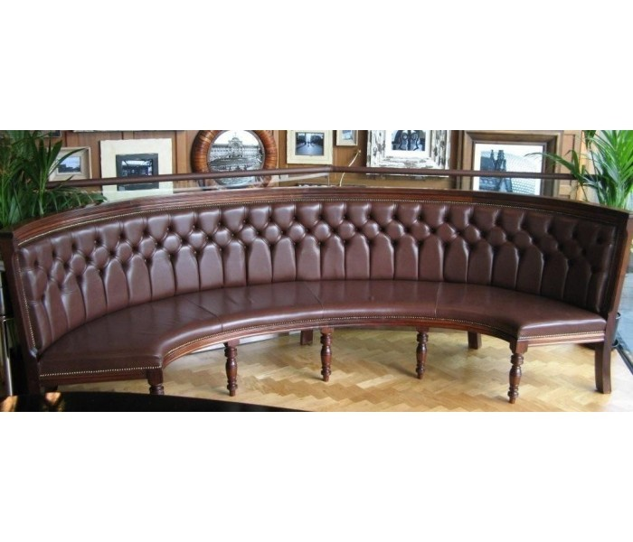 Browns Bullring curved Glasgow bench Copy