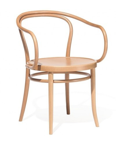 Number 30 Openback Bentwood Armchair With Polished Seat