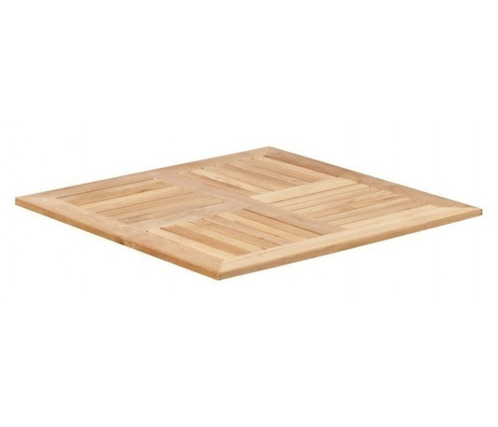 Square Outdoor Teak Table Top Square Teak Restaurant Table Top