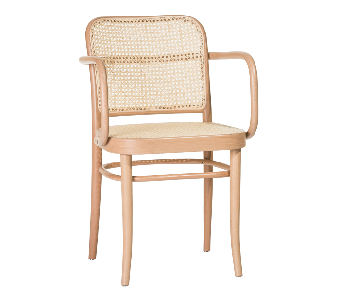 Number 811 Cane Back Bentwood Armchair