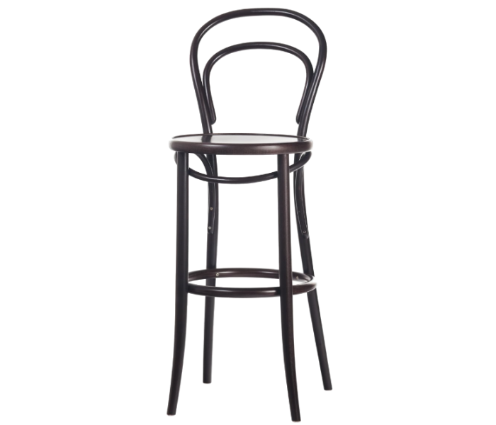 Number 134 Bowback Bentwood High Stool