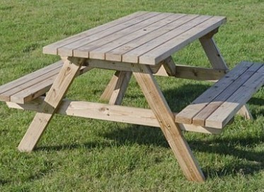 6 seater Picnic bench1