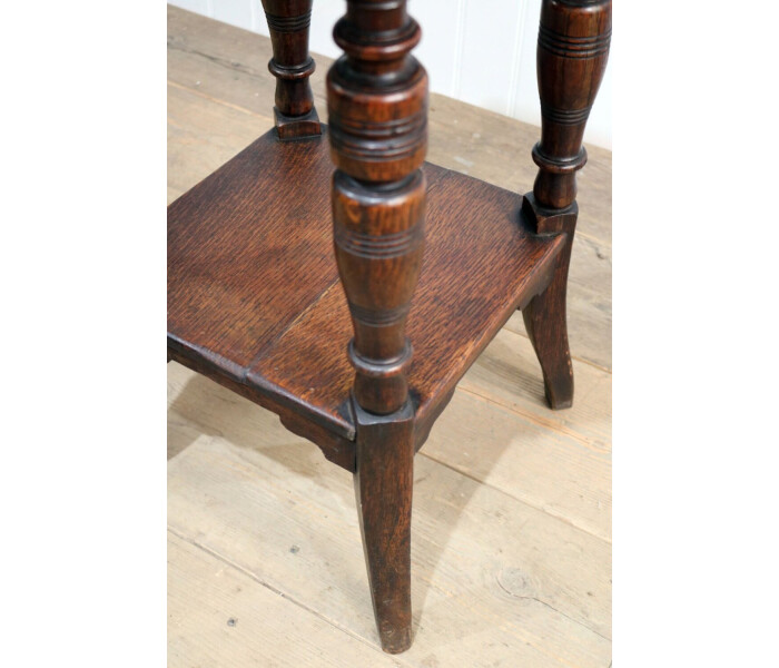 Aged copper top table 2 2