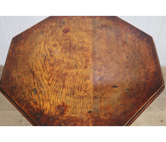 Aged copper top table 2 3