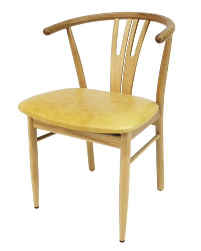 Alex Oak Armchair Cut Out