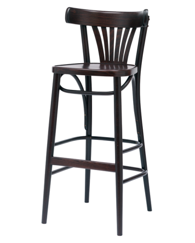 BSP130 Number 130 Fanback High Stool
