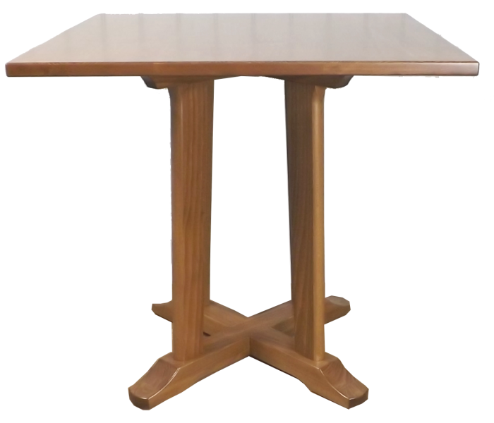 Benchairs Quad Pedestal Dining Table