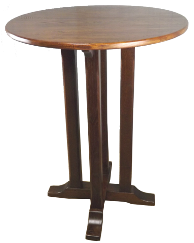 Brewood Poseur table oak top 5 Copy