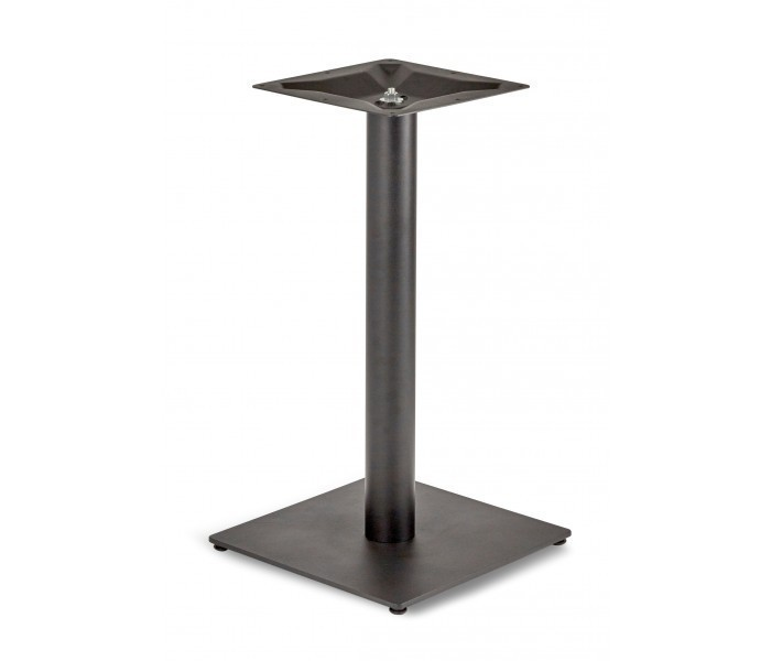 Circus Single Pedestal Dining Table Square Base