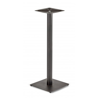 Circus Single Pedestal Poseur Table Square Base