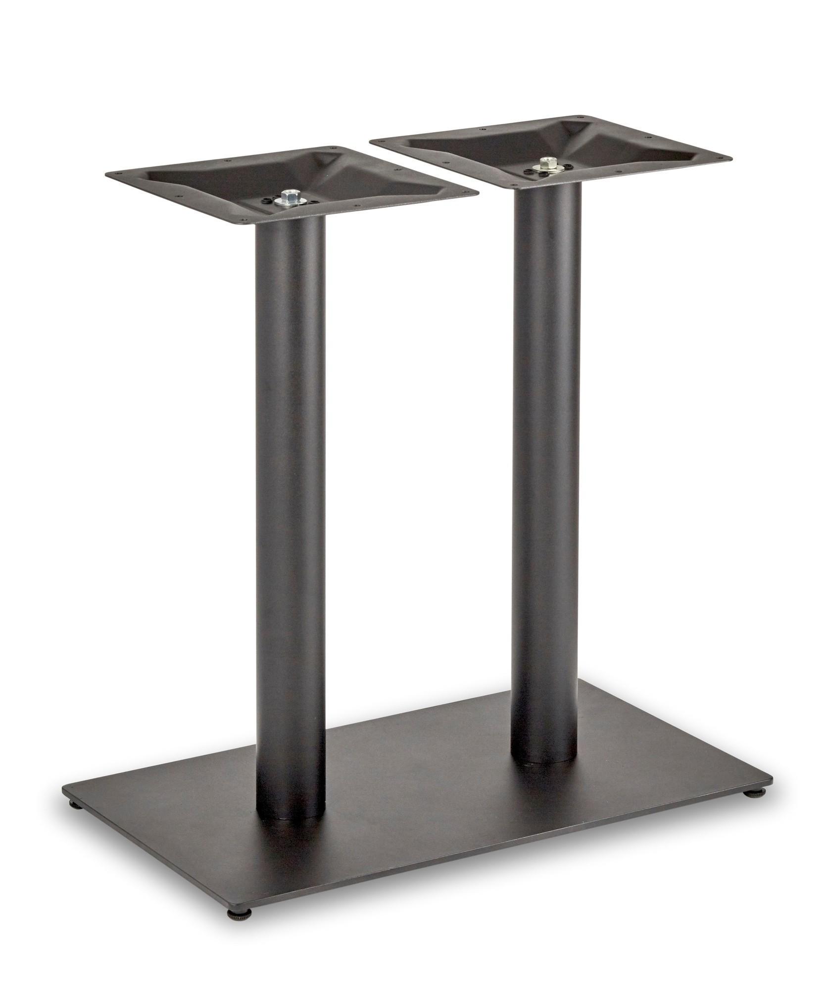 Circus Twin Pedestal Dining Table Rectangular Base