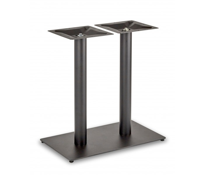 Circus Twin Pedestal Dining Table Rectangular Base