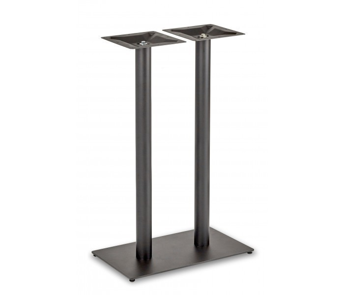 Circus Twin Pedestal Poseur Table Base Rectangular Base
