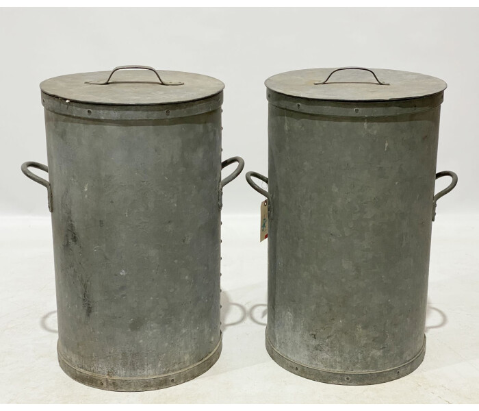 Galvanised cereal bins 1
