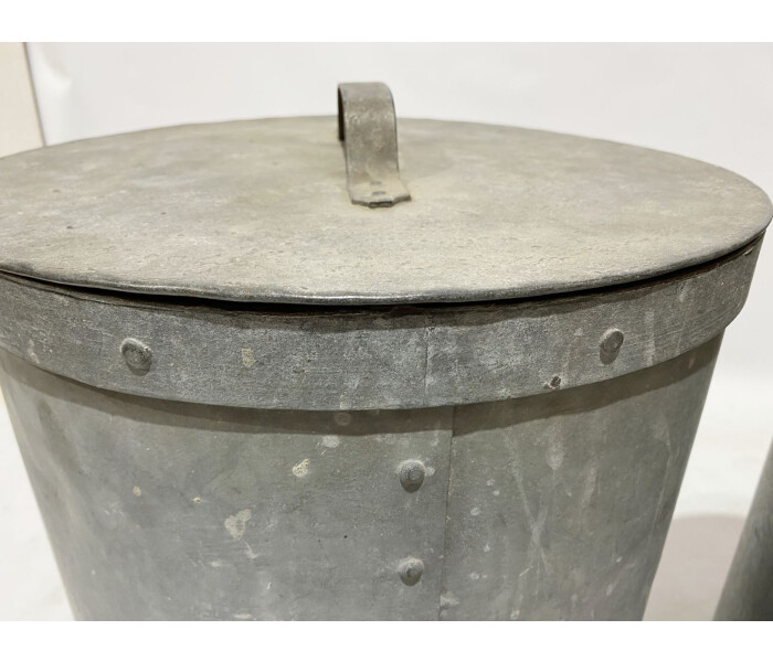 Galvanised cereal bins 3
