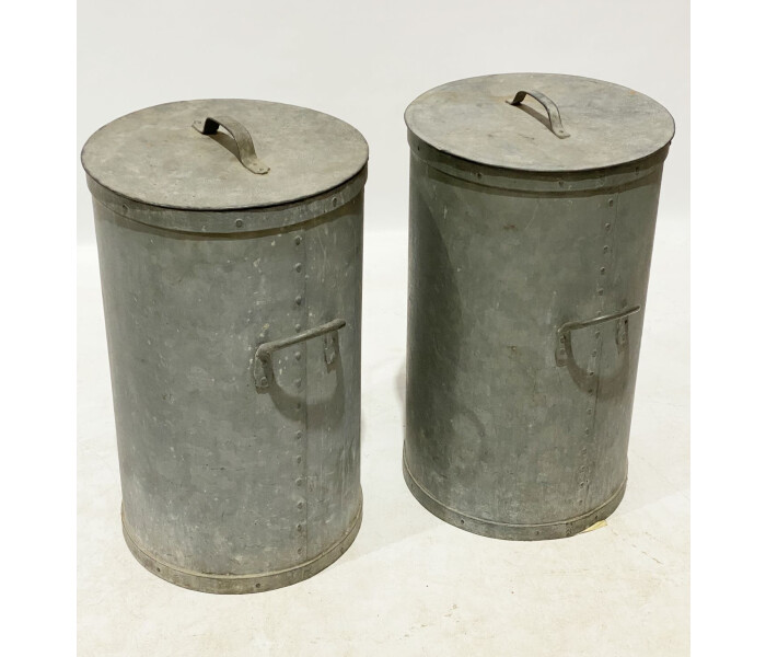 Galvanised cereal bins 4