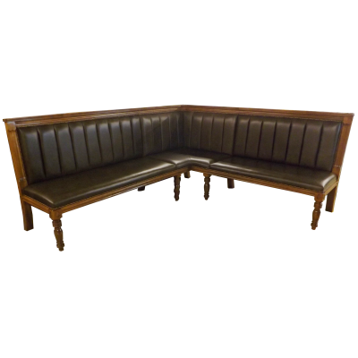 Glasgow Bench with Fluted Back 3