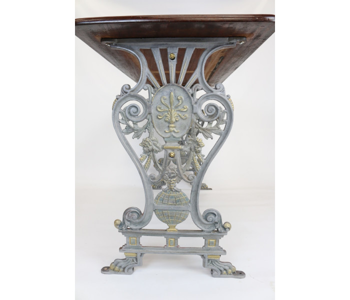 Unique Large Cast Iron Table Base