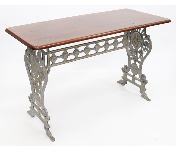 Large Cast Iron Pedestal Table Base