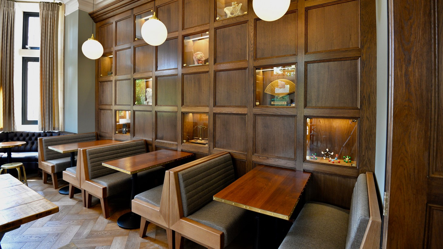 Homerton Cafe Paneling