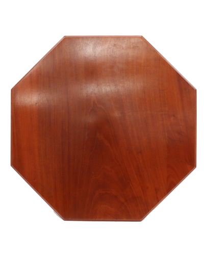 Octagonal Sapele Table Top - Sapele Mahogany