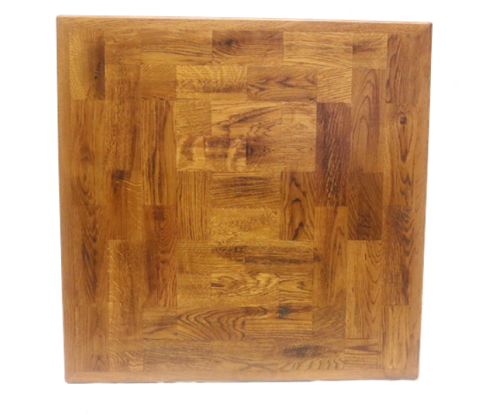 Parquet Oak Tile Table Top