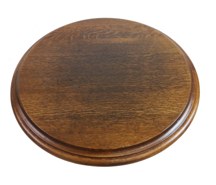 Round Distressed Oak Pub & Restaurant Table Top
