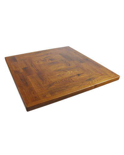 Square Parquet Oak Table Top