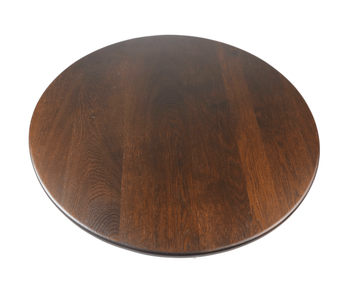 Round Solid Oak Table Top