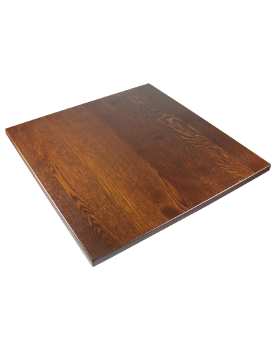 Square Solid Oak Table Top