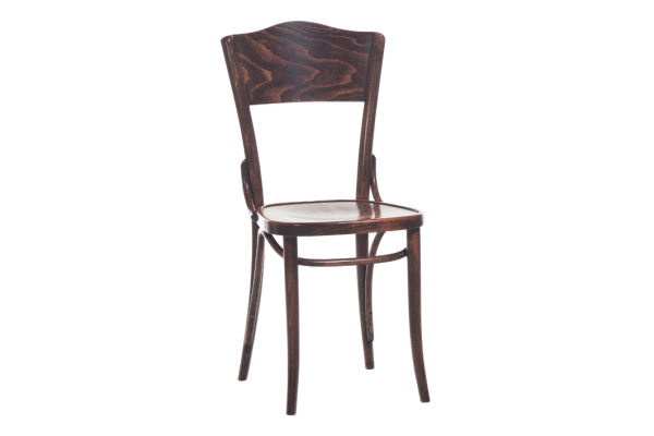 Number 54 Upholstered Panel Back Chair