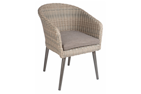 OUTMEL1 Melborne armchair excluding cushion