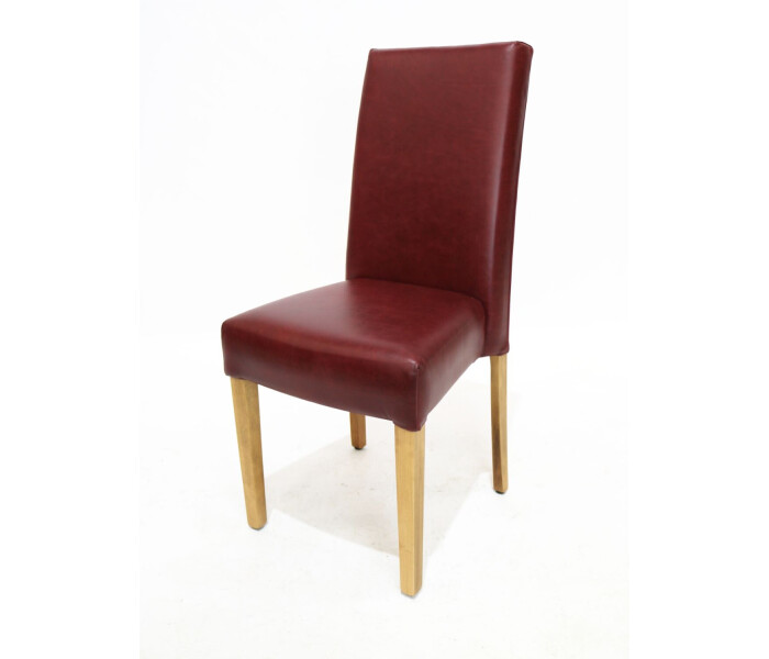 Pair of fully upholstered stacking chairs 3