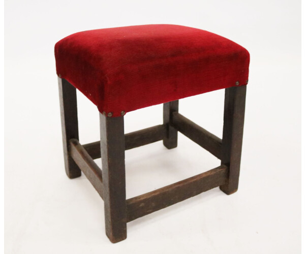 Red stool 1