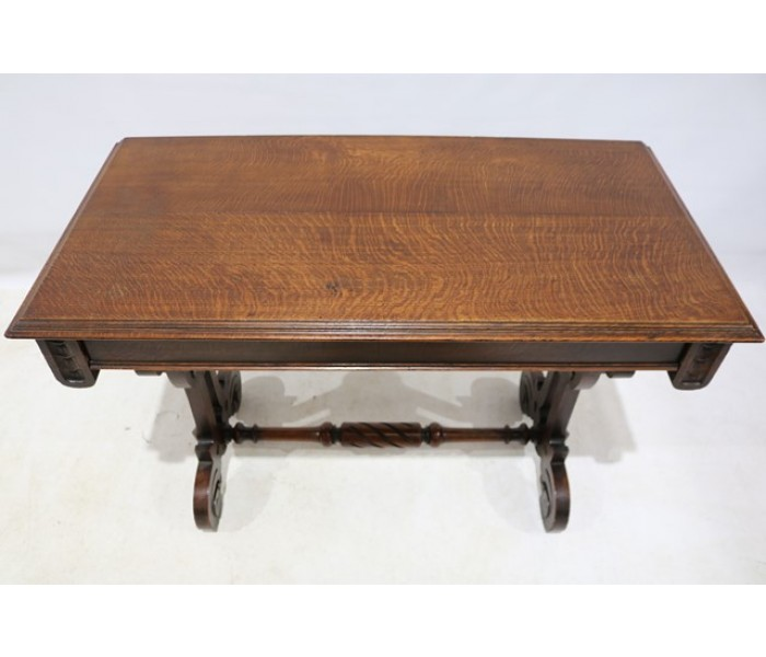 Marvelous Mid 19Th Century Oak Serving Table In The Gothic Style Download Free Architecture Designs Xerocsunscenecom