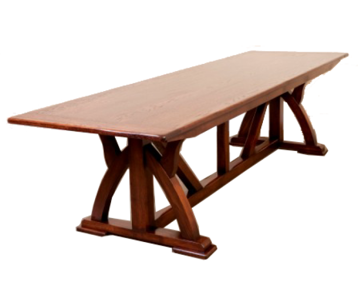 TGP30 Gothic Pugin Refectory Table 2