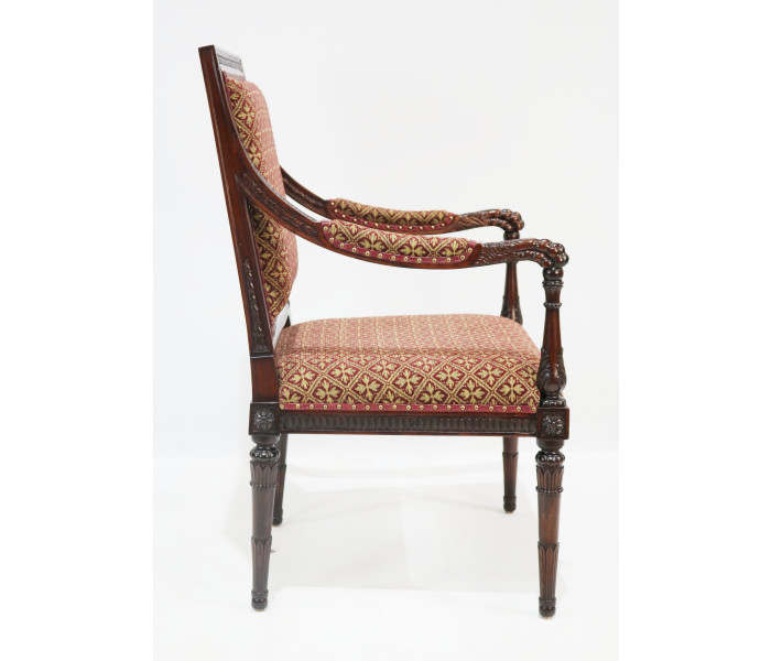 repro lion claw armchair 3