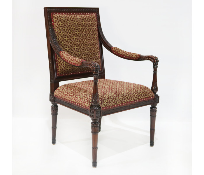 repro lion claw armchair
