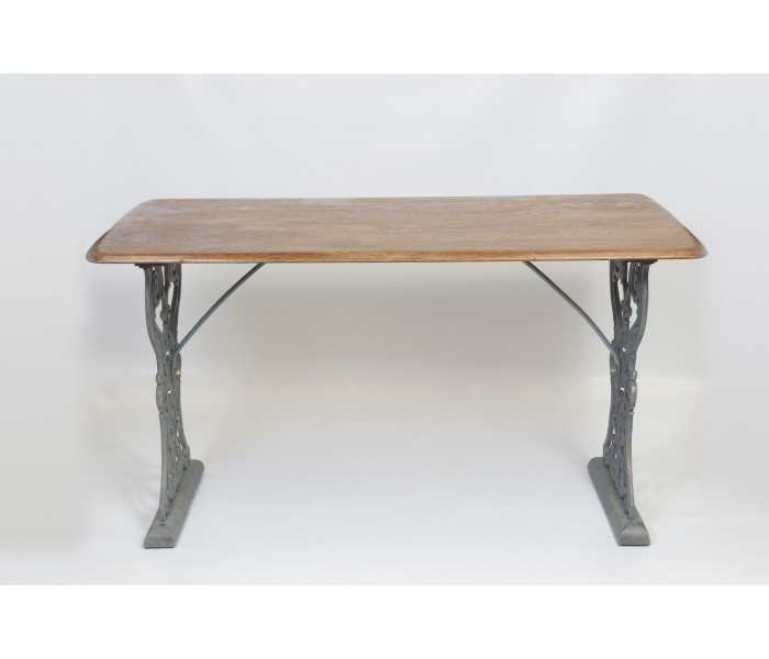Traditional Georgian Design Cast Iron Table