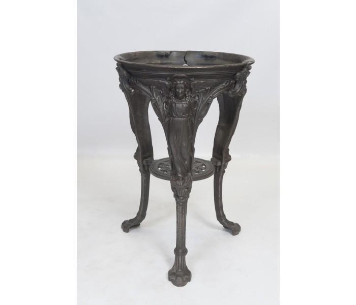 Angel Table Base Vintage Cast Iron Table Base Bar