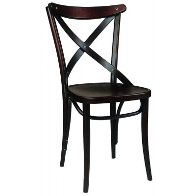 Bentwood Number 150 Polished Crossback Chair